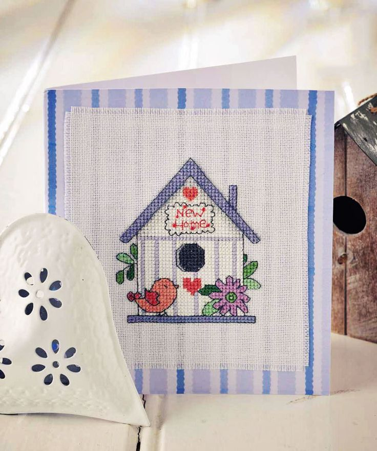 House Warning - Project Available in Cross Stitch Collection 253
