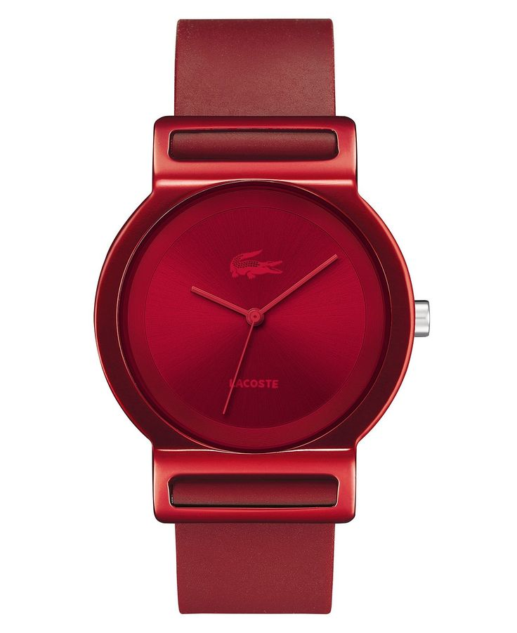 Lacoste Watch, Tokyo Red Silicone Strap 39mm 2000699 - Women's Watches - Jewelry & Watches - Macy's