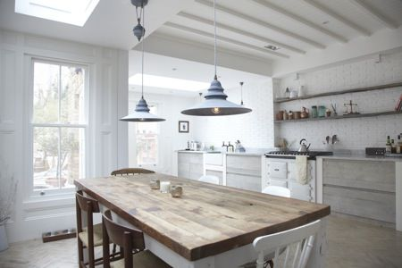 natural modern interiors: How To Decorate :: The Modern Country Style