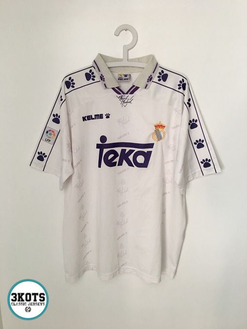 bee76da4f REAL MADRID 1994/96 Home Football Shirt (XL) Soccer Jersey Vintage KELME  Maglia #KELME #Jerseys #RealMadrid #Soccerjerseys #Footballshirts
