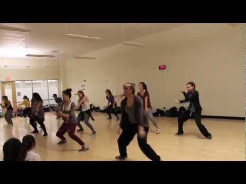 "I'm a dance teacher on the side. Check out one of my dance classes. ""Put it Down"" by Brandy - Choreography by Carly Schwartz"