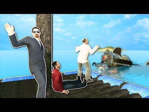 RAFT BUILDING AGAINST SHARK? - Garry's Mod Gameplay - Gmod