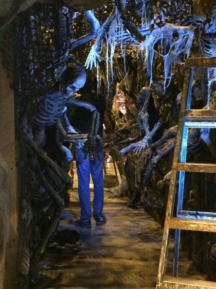 555 best Haunted house ideas images on Pinterest Halloween stuff - halloween garage ideas