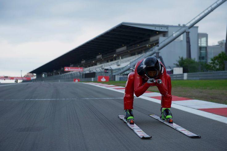 Speed Ski at Nurburgring https://www.facebook.com/JedrzejDobrowolskiSpeedSki @Jędrzej Dobrowolski