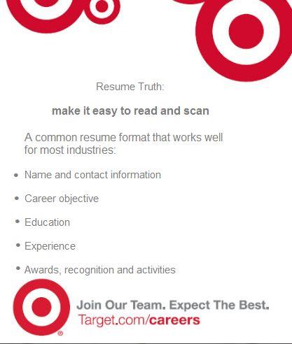 48 best Customer Service images on Pinterest Tips, Customer - target resume