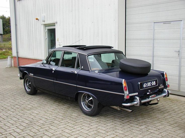 rover p6 3500 - British Leyland as always - a mix of part ranging from Marina to Rolls