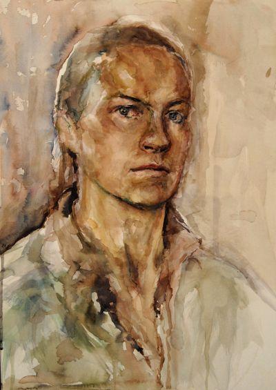 Ken Bromley Art Supplies - Watercolour Portraits with Aine Divine DVD