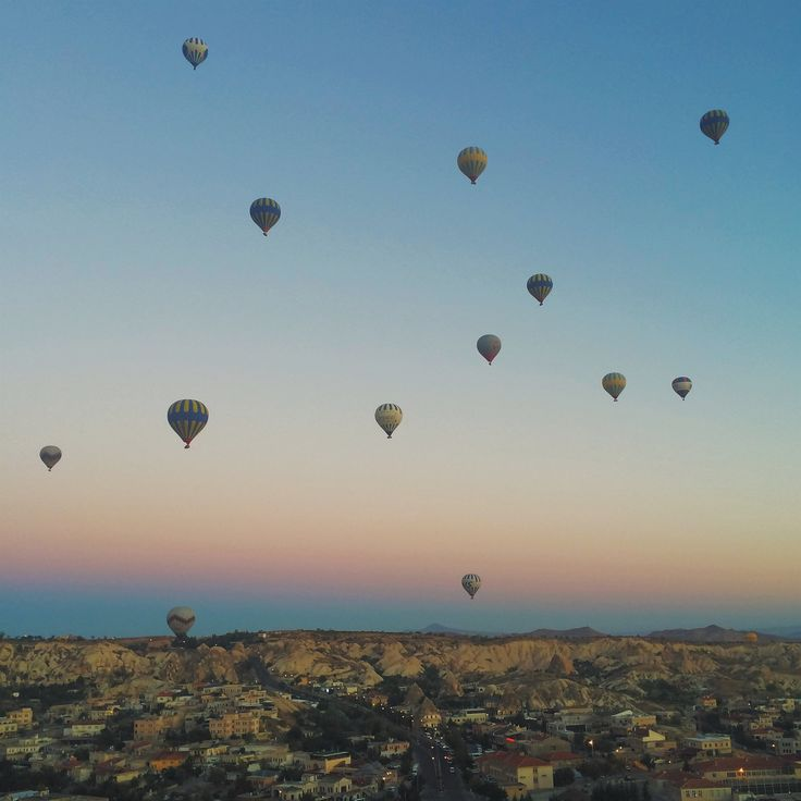 Floating across the sky - a guide to hot air ballooning in Cappadocia, Turkey!