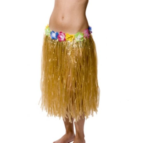 Как сделать гавайскую юбку хула