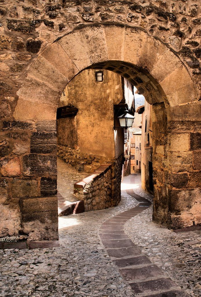 Portal de Molina in Albarracín - Teruel, Spain