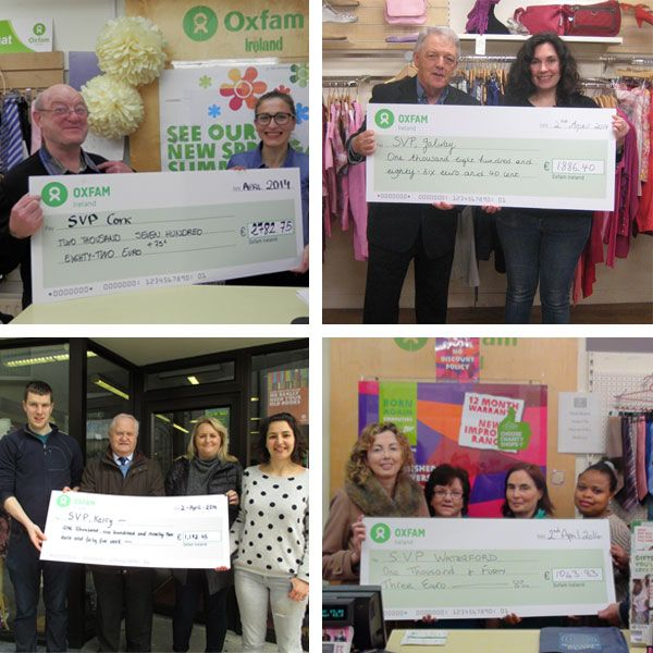 Back in February we pledged to locally donate a full week's income from our shops in Cork, Galway, Limerick, Tralee, Waterford and Wexford to those affected by the severe flooding in Ireland through SVP - ST. Vincent de Paul Ireland..   The total income came to €10,753.03 so a massive thanks to everyone who purchased and donated items in our shops that week.  ➨ Find your nearest Oxfam shop here: https://www.oxfamireland.org/shops