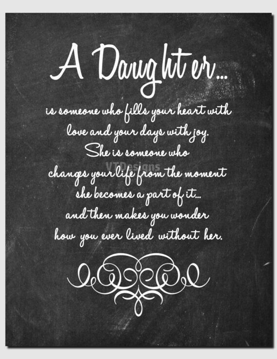 Pin by Angela Renee on Daughters | Daughter poems ...