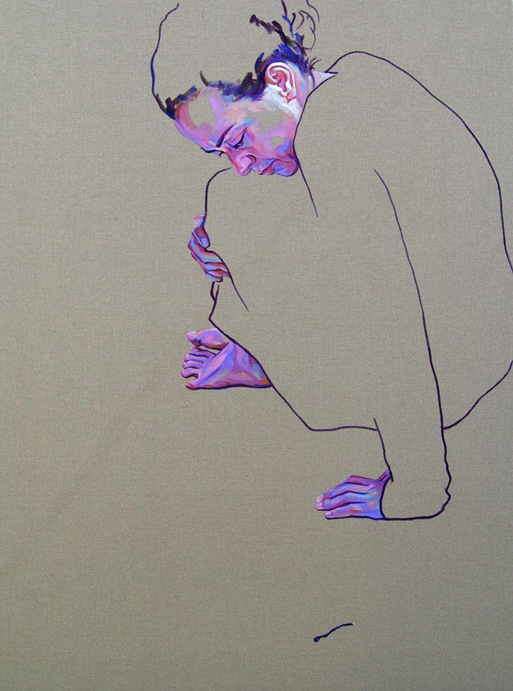 Emotionally Expressive Self-Portraits Utilize Negative Space - My Modern Metropolis