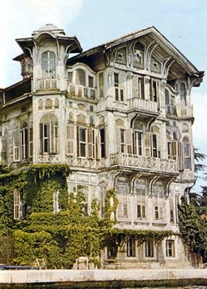Mansions of the Bosphorus - probably haunted but really great lines!