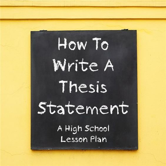 What is an author thesis statement  Help with writing an essay