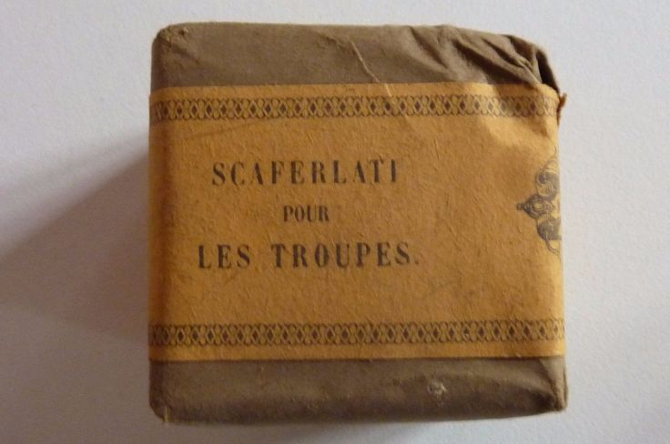 paquet de tabac Scaferlati pour les troupes, armée,  40g numéroté in Collections, Militaria, Insignes, 2nde guerre mondiale 39-45   eBay