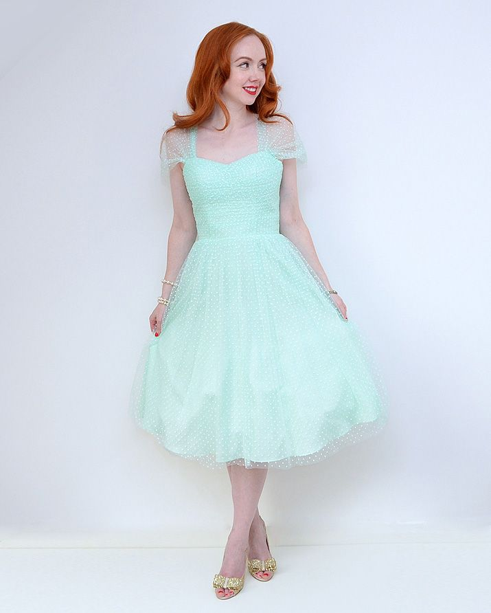 Unique Vintage Garden State dress