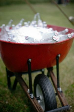 Cute! Great idea for a backyard party! by jody