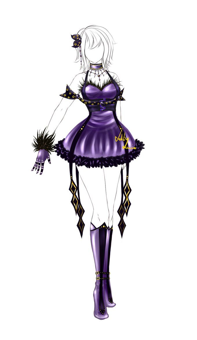 Character Design Dress Up : Outfit design closed by lotuslumino on deviantart