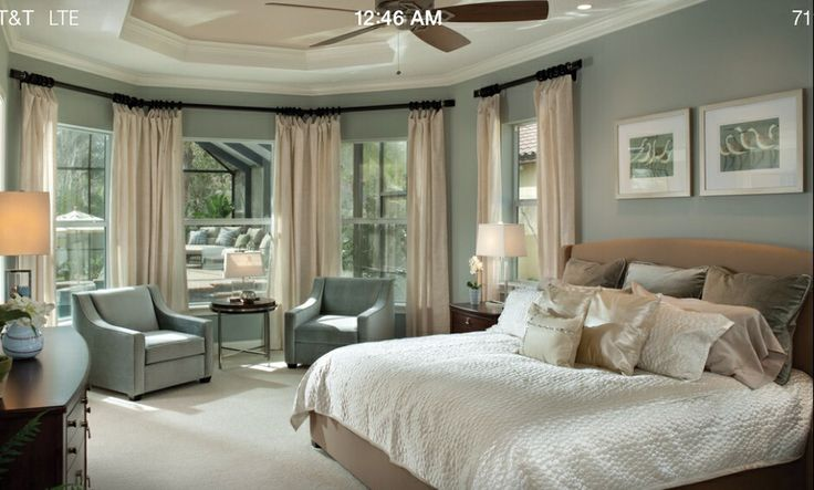 Spa Blue Bedroom Florida Home Decorating Beach House