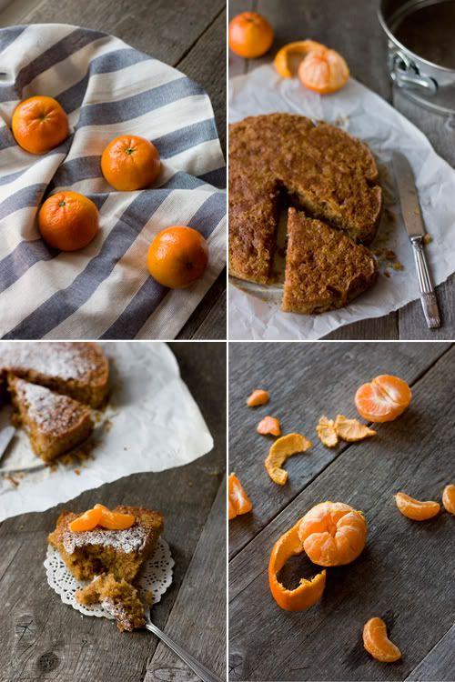 Gâteau à la farine de châtaigne et clémentine   Christelle is Flabbergasting