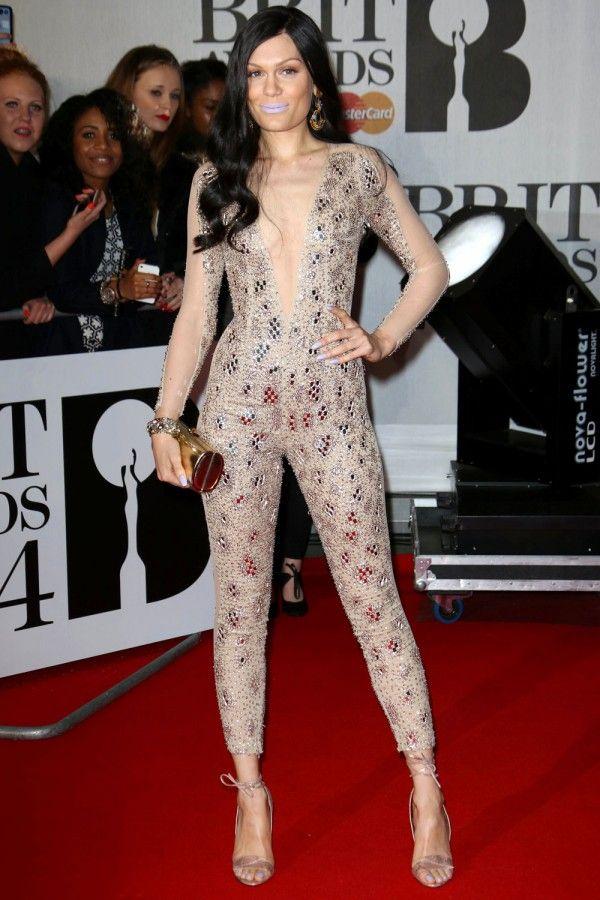 Jessie J // BRIT Awards 2014 - Julien Macdonald.