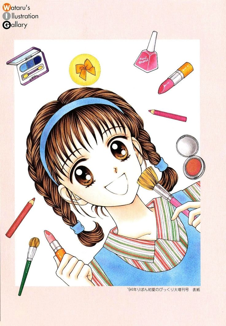 Marmalade_boy_illustrations_gallery013.jpg (953×1373)