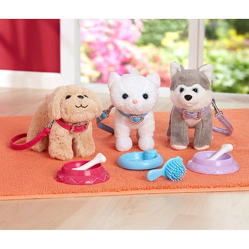 Journey Girls Playful Pet Golden Retriever Dog Toys R