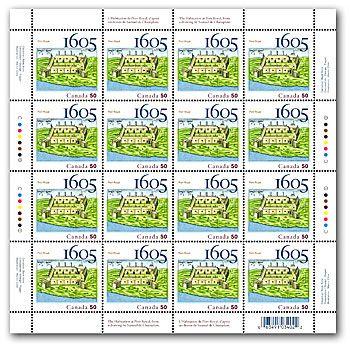 1605-2005 Port Royal Stamp