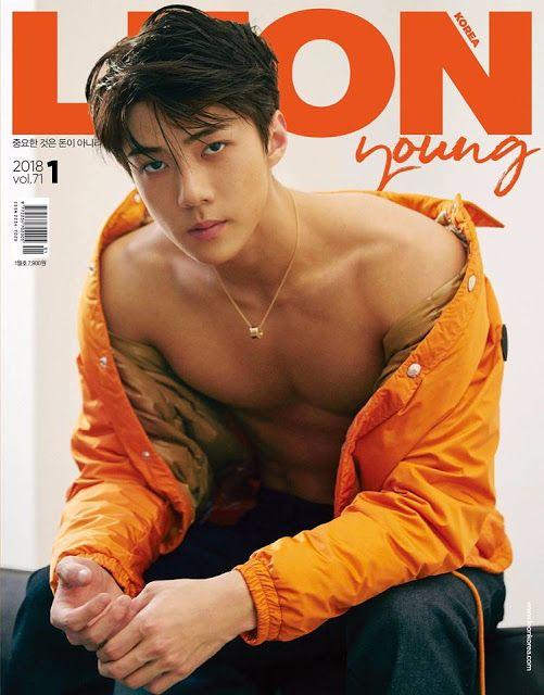 Devilspacezhip: [PICS] EXO SeHun For January Issue of LEON Magazin...