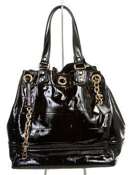 Black Leather Yves Saint Laurent Shoulder Bag | Yves Saint Laurent ...