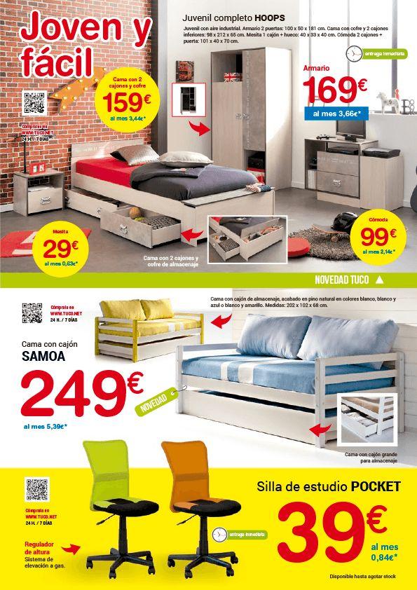 Hogar, Tuco hogar. Nueva colección de muebles con ofertas. Válido hasta 31/10/2016