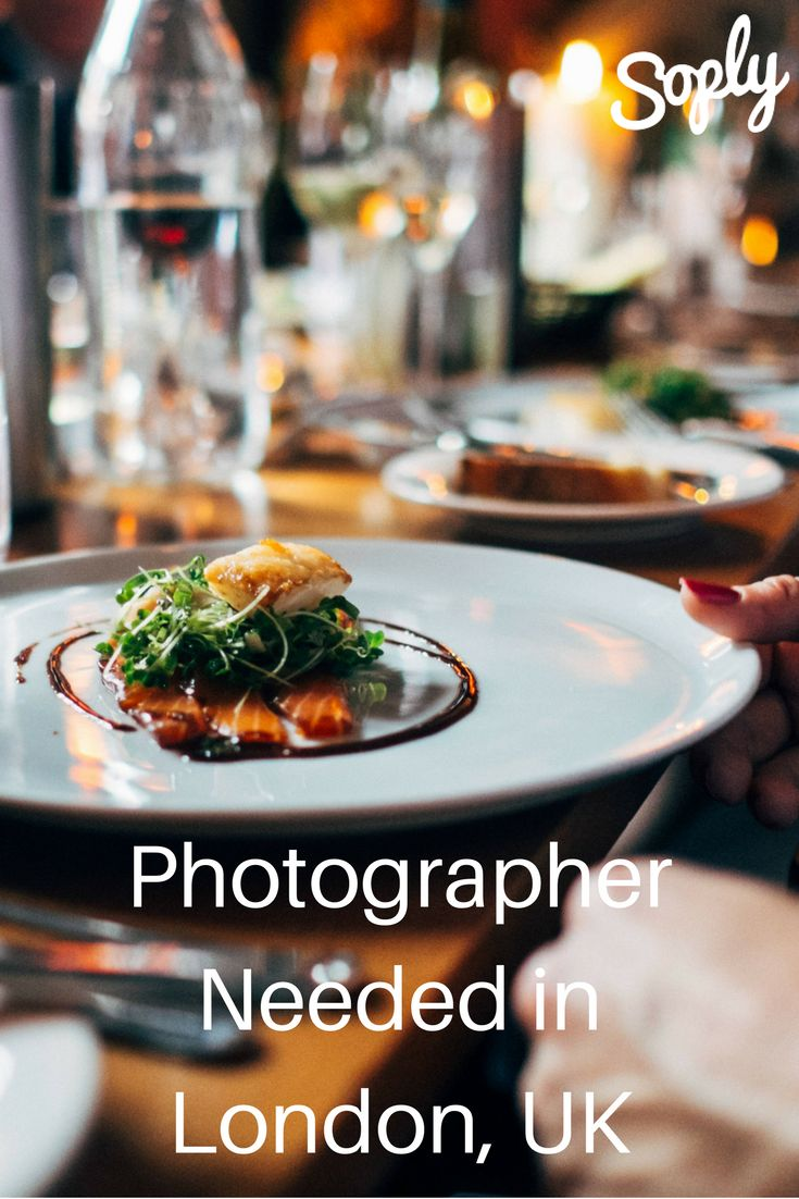 #Photographer needed for a #food and #lifestyle #photoshoot in #London #UK…