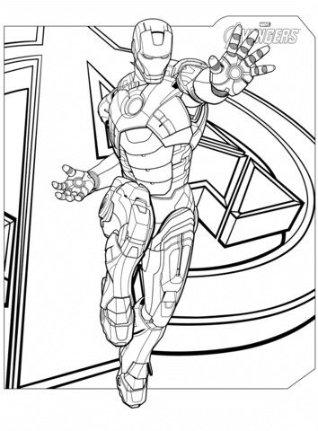 Pin By Deed On Avengers Avengers Coloring Pages Coloring Pages