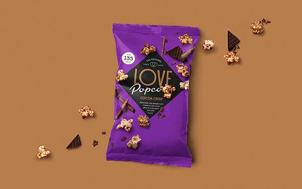 Love Popcorn on Behance