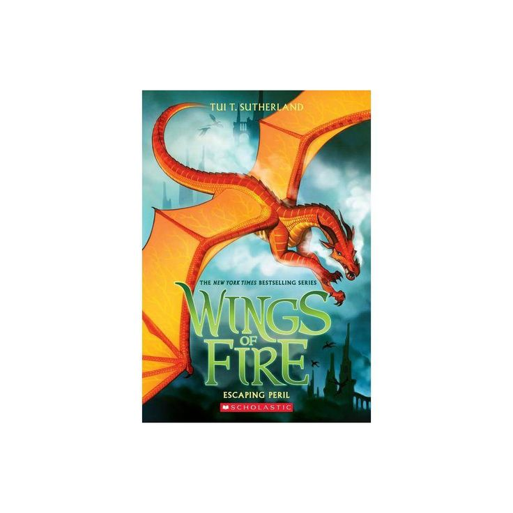 Escaping peril wings of fire book 8 volume 8 by tui