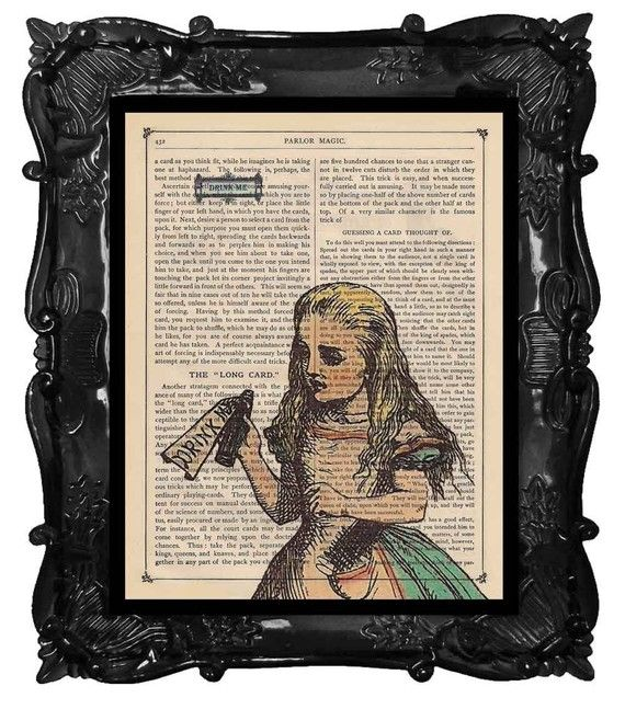alice and wonderland art <3Ink Drawing, Book Art, Antiques Book, Vintage Book, Alice In Wonderland, Art Prints, Vintage Owl, Book Pages, Vintage Art