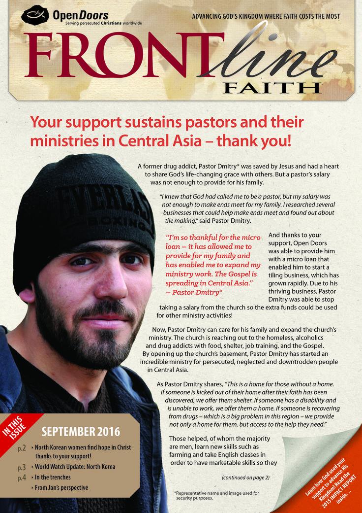 Frontline Faith Magazine - September 2016