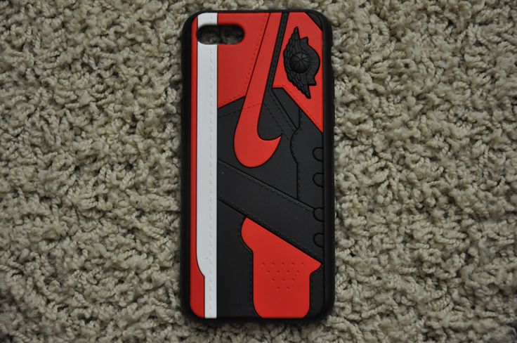"Jordan Retro ""Bred"" 1 iPhone Case"