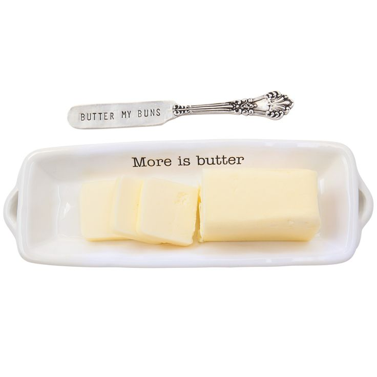 Shop Mud Pie featuring the Circa Butter Dish and a Spreader! This ceramic design is crafted for years of tabletop use. Enjoy free shipping every day.... $14.95