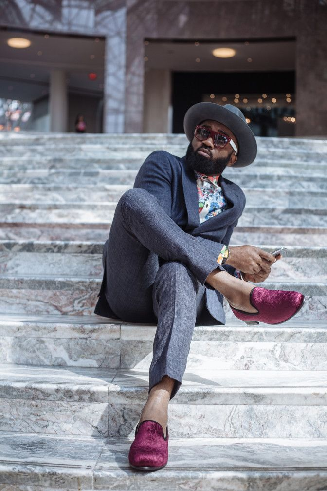 No, Noble Igwe is not a footwear designer, neither is h …