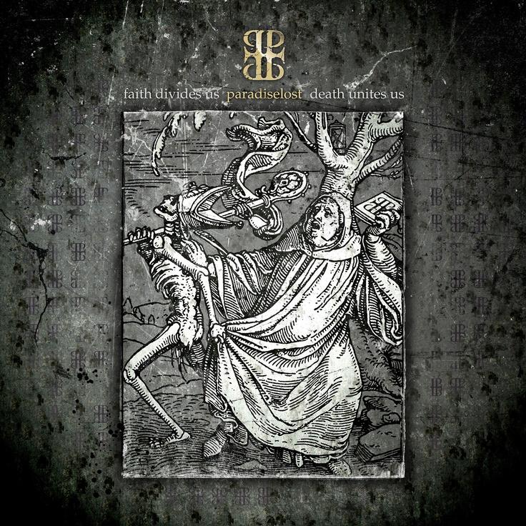 FAITH DIVIDES US DEATH UNITES US - Paradise Lost's twelfth studio album - 2009