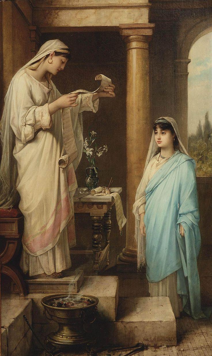 Inauguration of a Vestal Virgin, Hector Leroux.