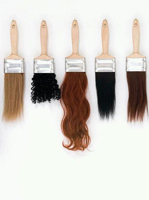 Pincéis de cabelo humano ˆ.ˆ