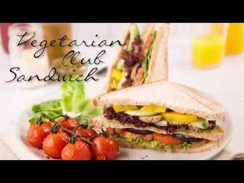 Resep Vegetarian Club Sandwich    Sumber : youtube.com by Selera Nusantara