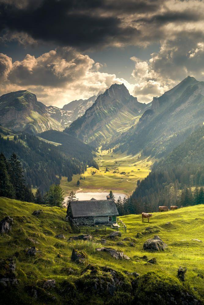 Switzerland Beautiful Landscape Photography Beautiful Landscapes Scenery