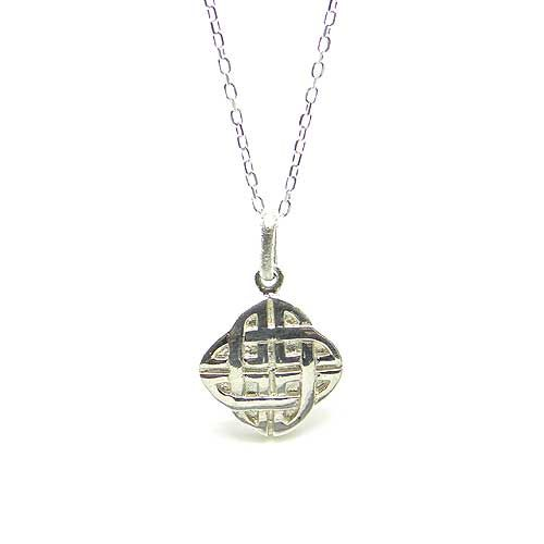 Sterling Silver Celtic Pendant. Made in Ireland. This Celtic pendant makes a great accent piece for any outfit. Handcrafted and made from Sterling Silver.