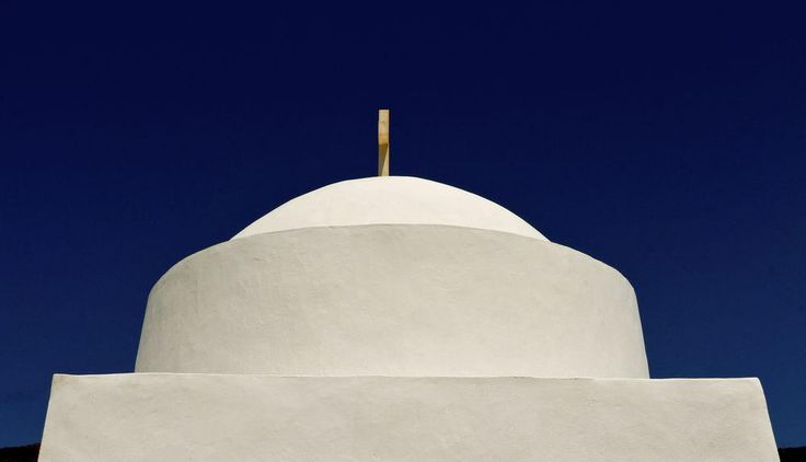 Dôme & blue sky ... Photo by Menis Tselentis — National Geographic Your Shot