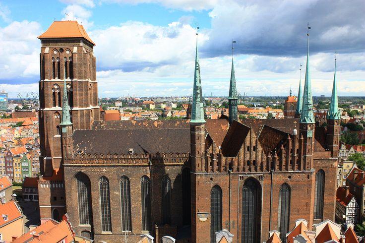 Bazylika Wniebowzięcia Najświętszej Maryi Panny (Mariacka) w Gdańsku (Polska). [za Wikipedia]