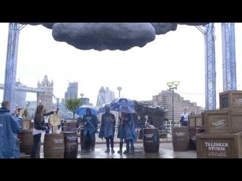 The Talisker Storm: The world's first interactive storm